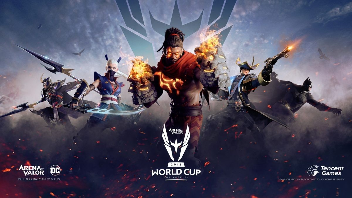 Arena of Valor World Cup 2019 Announced With Prize Pool of USD$ 500,000