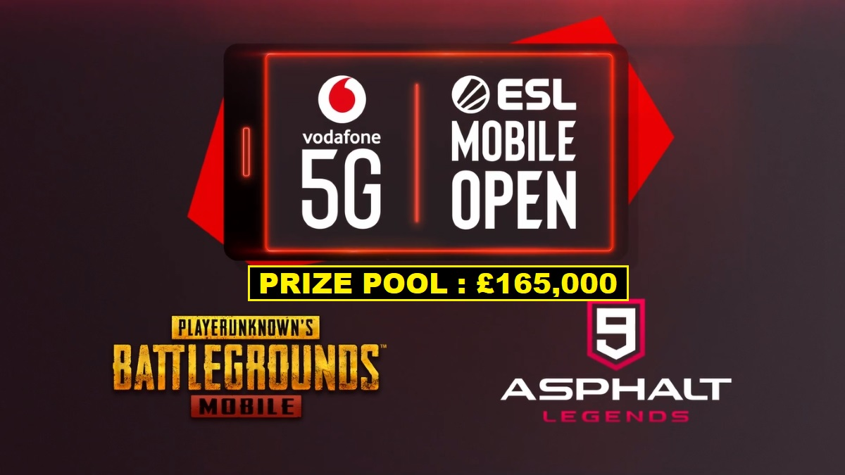 ESL Gaming Mobile Open Pubg Mobile Tournment