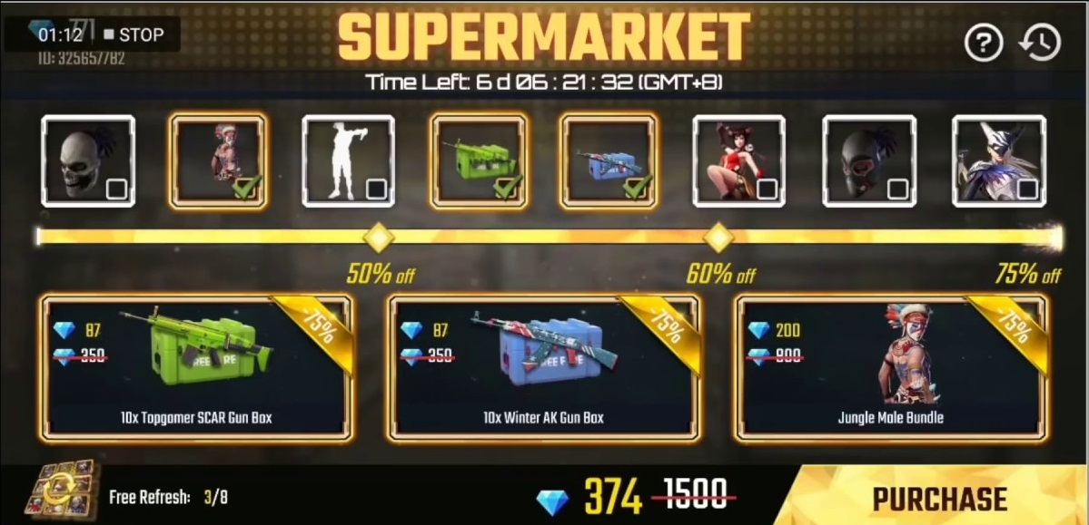 Garena Free Fire is Here with the Super Sale : Save More, Play Better!