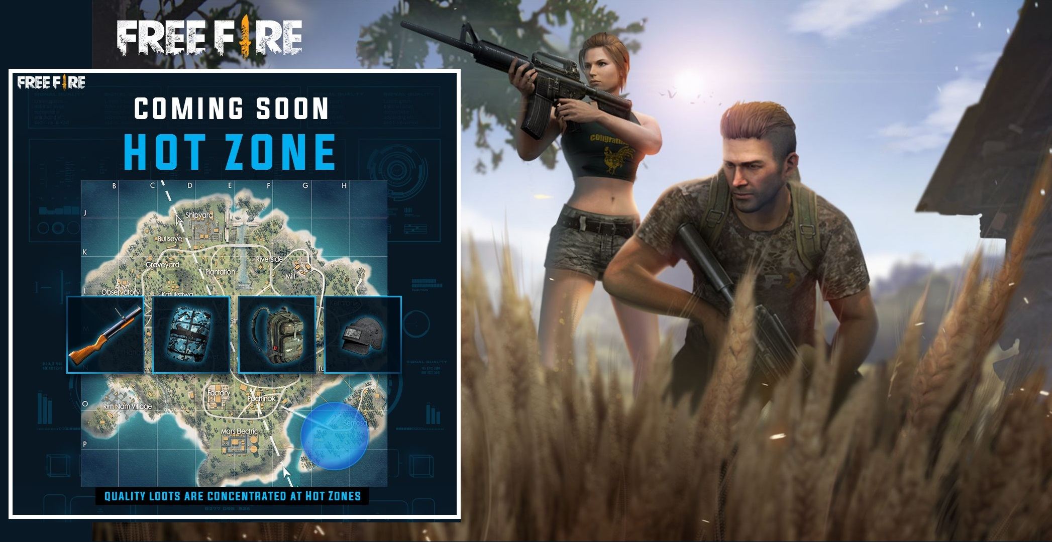 Garena Free Fire is soon adding 'Hot Zone' in the game