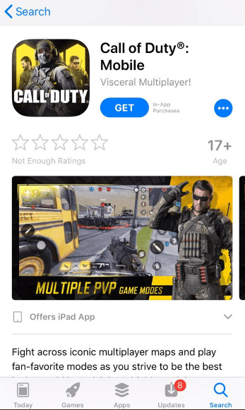 Download Call of Duty Mobile iOS Version