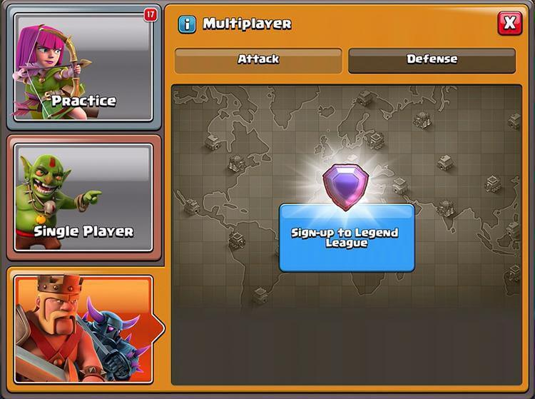 Clash of Clans Legend League