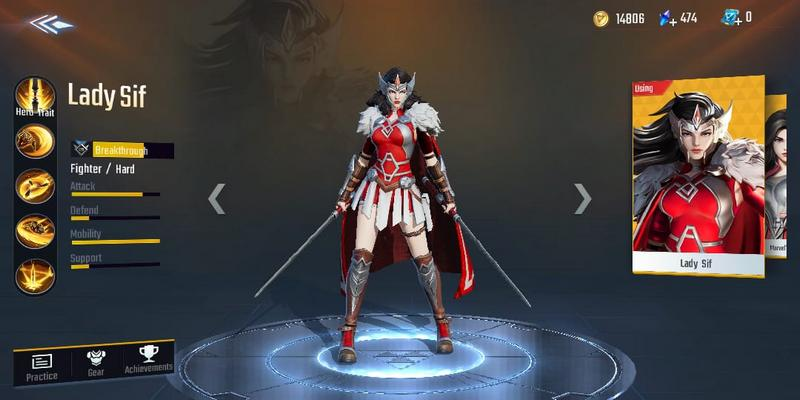 Marvel Super War Secretly Adds New Hero To The Game Named 'Lady Sif'