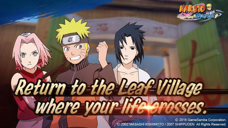 Naruto: Slugfest Pre-Registration