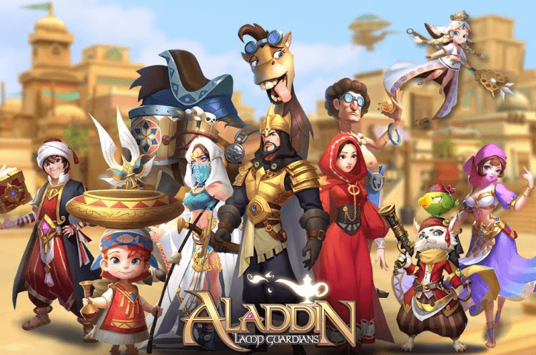 Aladdin: Lamp guardian has been released