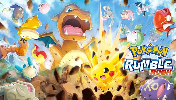 Pokemon Rumble Rush Game Released
