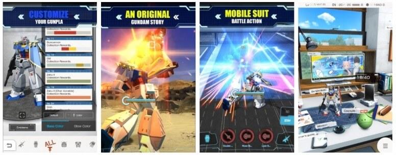 'Gundam Battle: Gunpla Warfare' Has Been Officially launched
