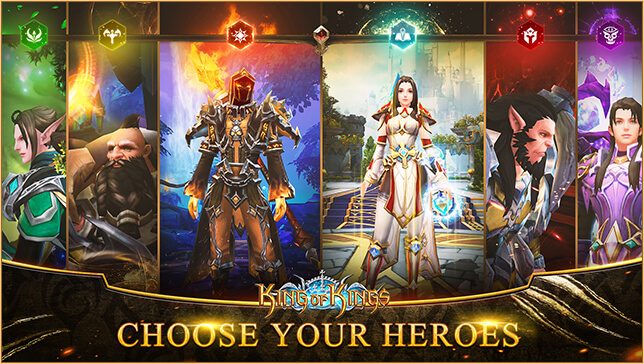 """ZLOONG's New Mobile Game """"King of Kings - SEA"""" is Available to Download"""