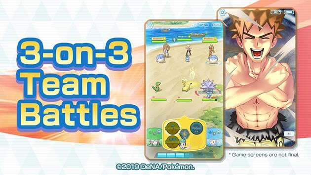 Pokémon Masters: Everything You Need to Know About 3v3 Real-Time Battles