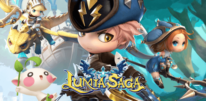 Pre-Registration for 'Lumia Saga' A 3D open-world MMORPG