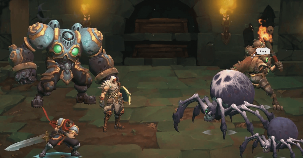 Battle Chasers: Nightwar Mobile Edition Has Just been Officially Released