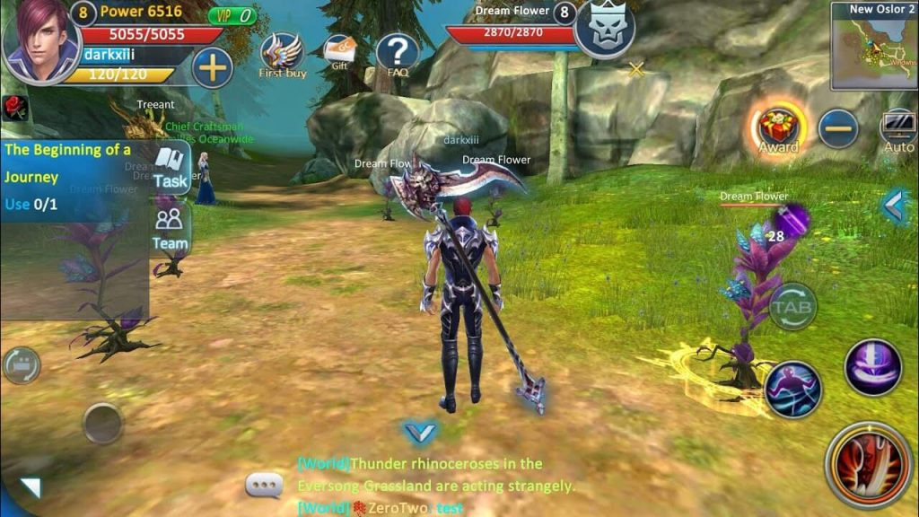 Forsaken World is Coming Soon to Mobile: Official Sequel of Popular PC MMORPG