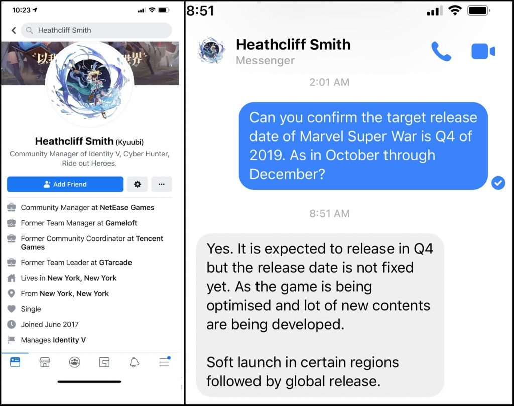 Marvel Super War Will Release at The End Of 2019