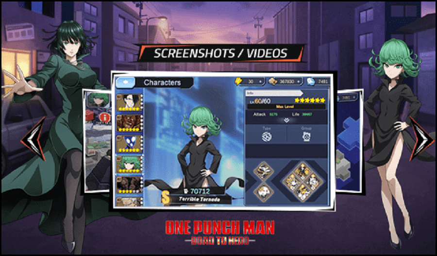 One Punch Man: Road to Hero's Gameplay Features