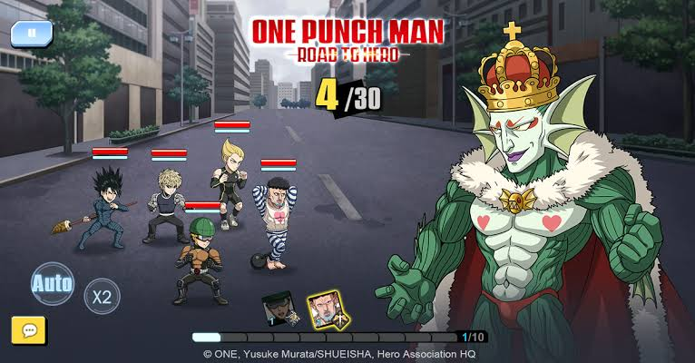 One Punch Man: Road to Hero Has Been Released on iOS: Download Now