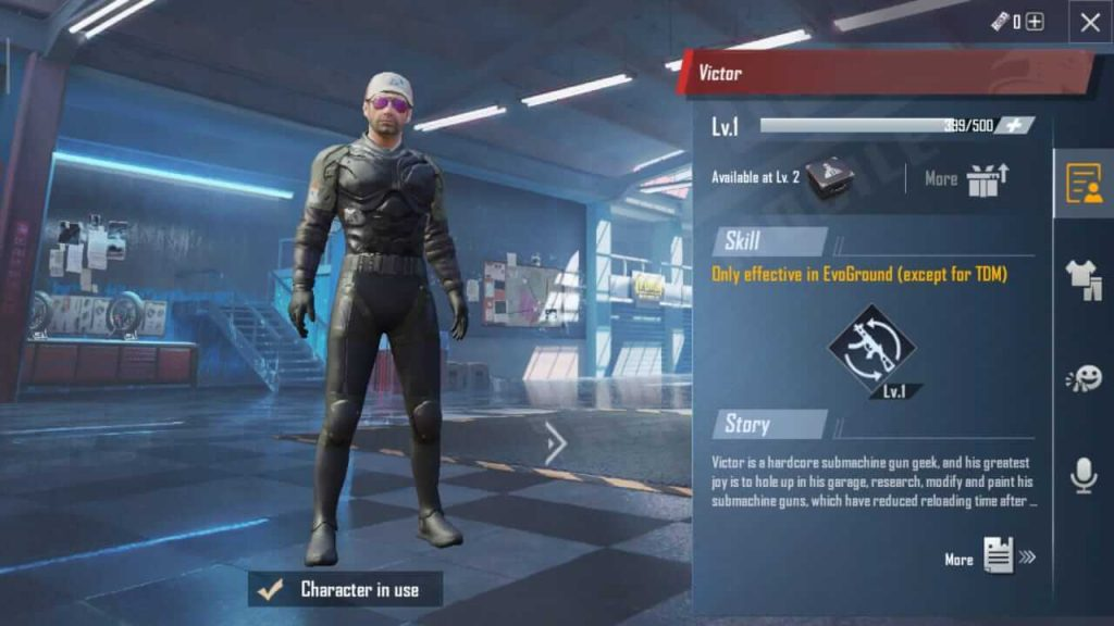 Everything You Need To Know About PUBG Mobile Character System