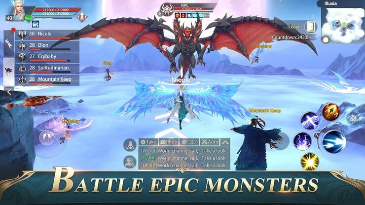 Perfect World Mobile Will Be Available in Open Beta on 4th September