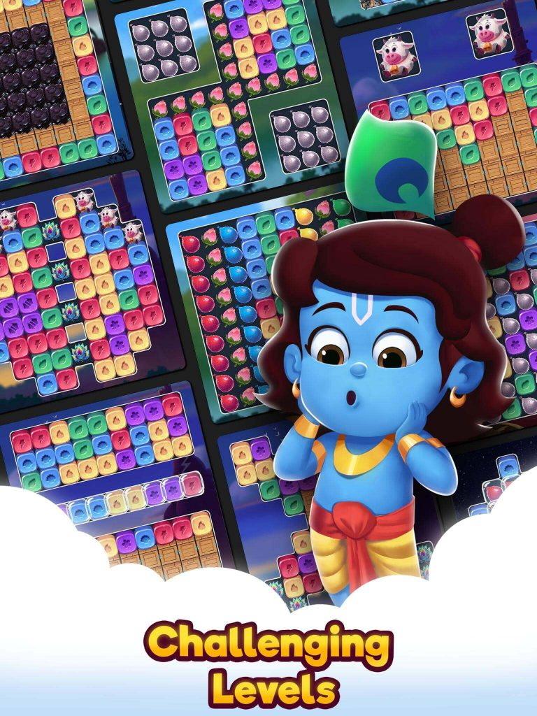 Download Super Krishna Crush Mobile Game Offered by CYMPL