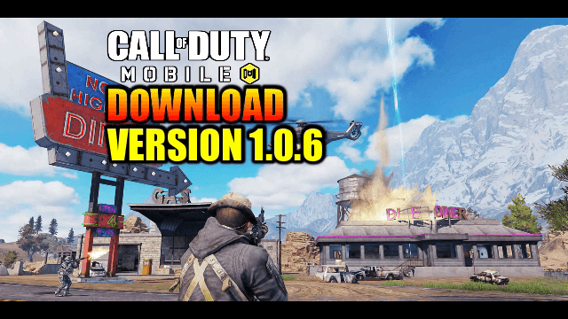 Download Call Of Duty Mobile Version 1 0 6 APK+OBB File
