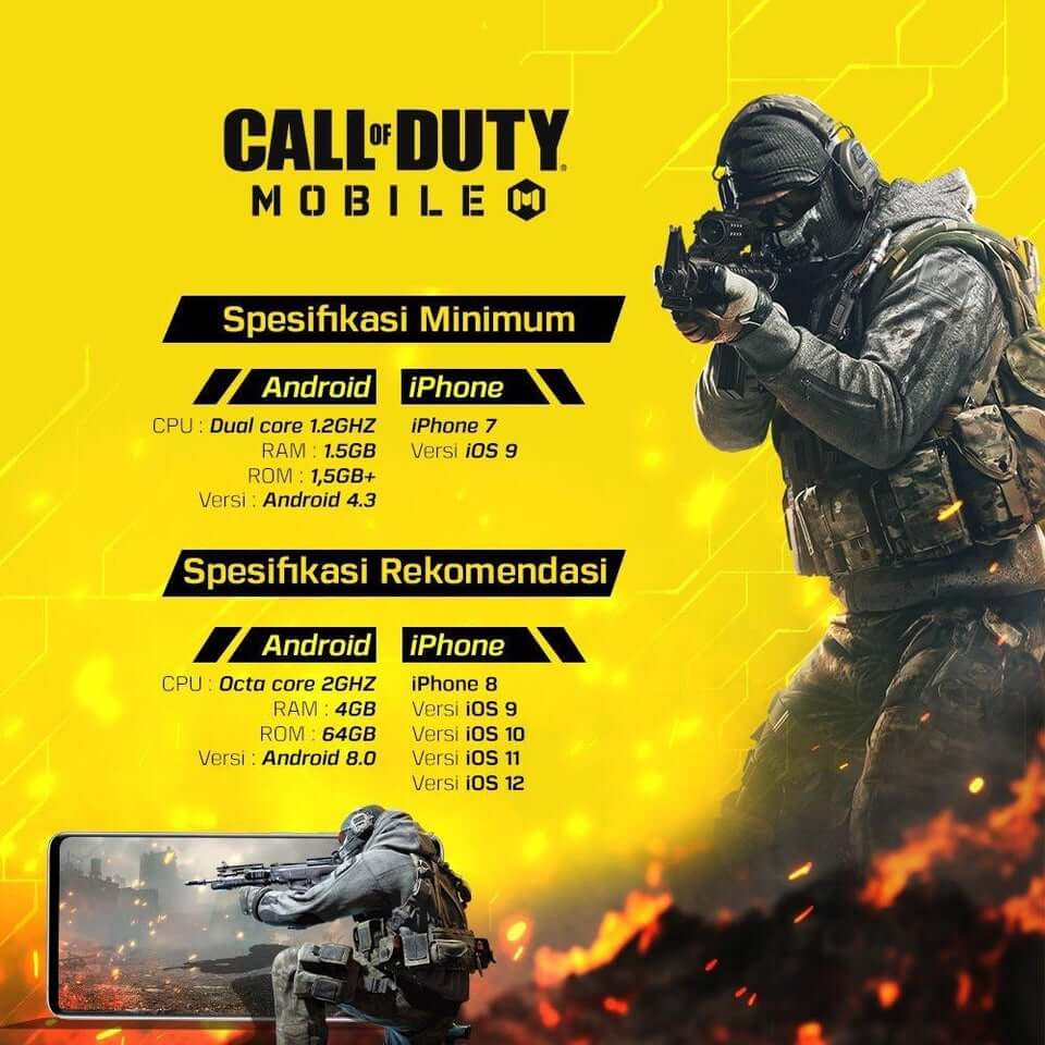 Minimum Requirements To Play Call of Duty Mobile?