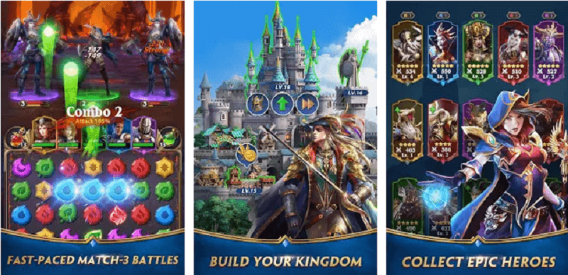 Download Deck Heroes: Puzzle RPG by IGG