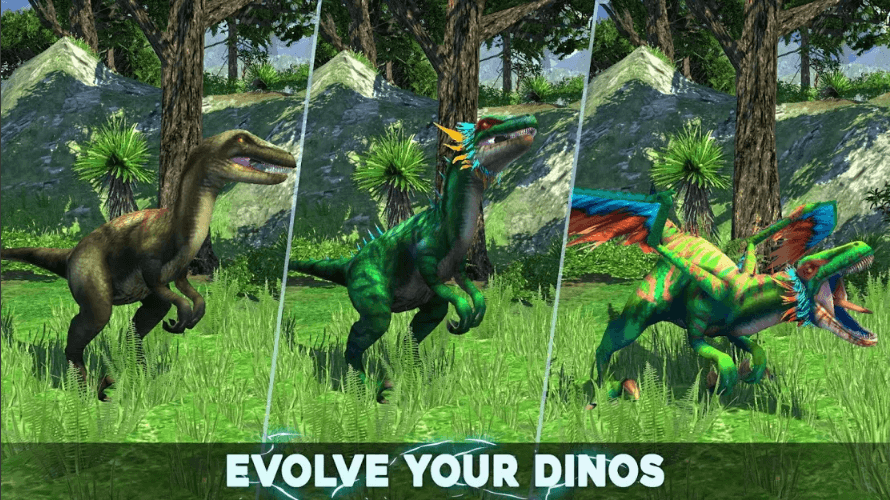 Dino Tamers - Jurassic Riding MMO is Available to Download in Early Access