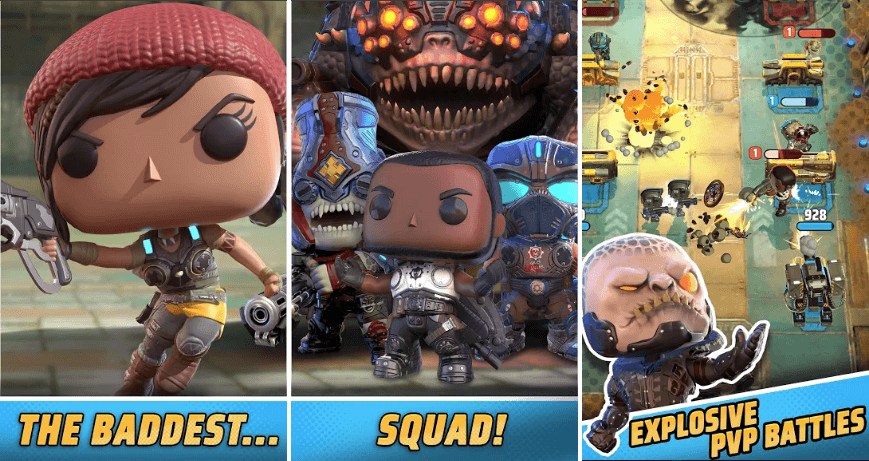 Gears POP! Game Review: Battle with Funko POP