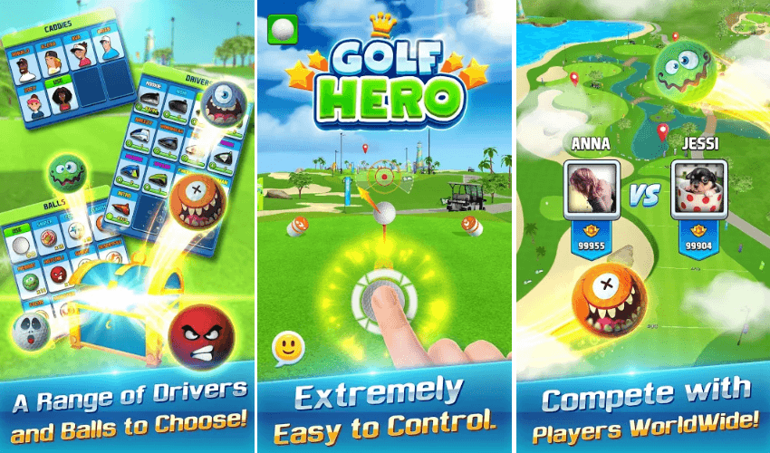 Daerisoft Has Released 'Golf Hero': Download Now