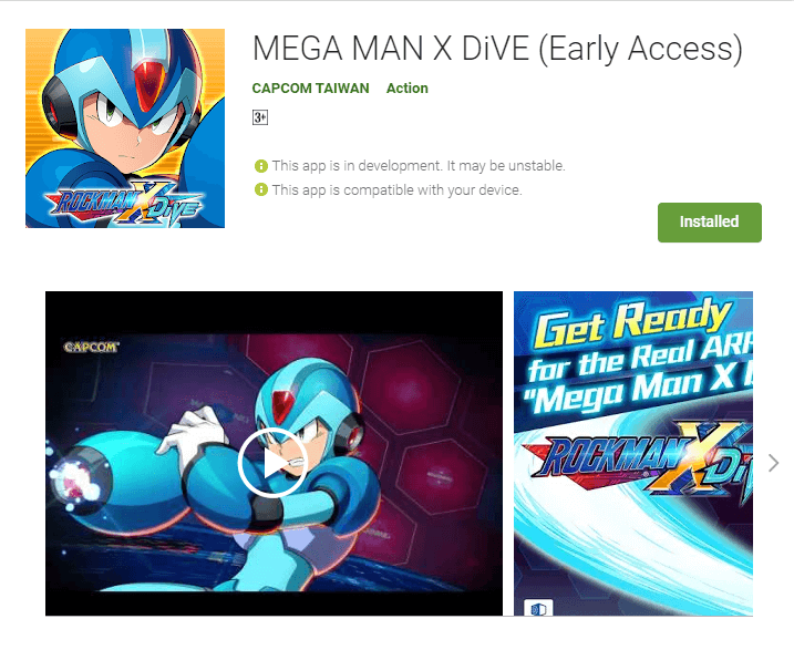 MEGA MAN X DiVE Beta Version is Now Out, Download Now!