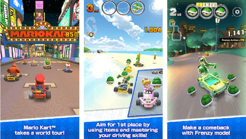 Download Mario Kart Tour on Android and iOS