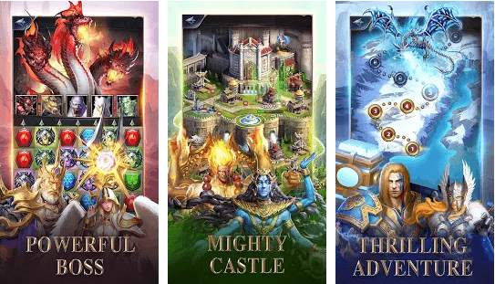 MythWars & Puzzles - RPG Match 3 Game Review: Amusing Game With Splendid Graphics