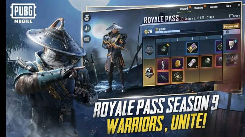 PUBG Mobile Season 9 Royale Pass: Everything You Need to Know
