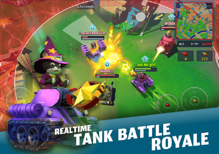 PvPets: Tank Battle Royale is Available for Pre-Registration