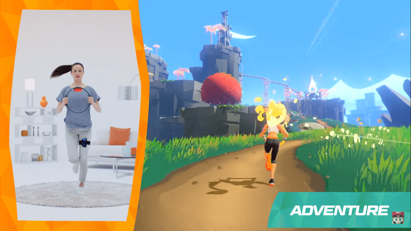 Ringfit Adventure A New Experience For Nintendo Switch Users