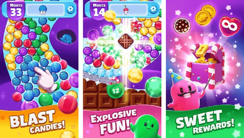 Sugar Blast is Available to Download on Android and iOS