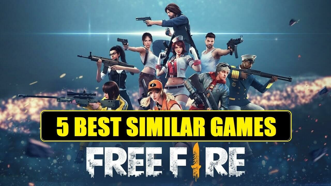 5 Best Games Like Garena Free Fire For Android And Ios 2019