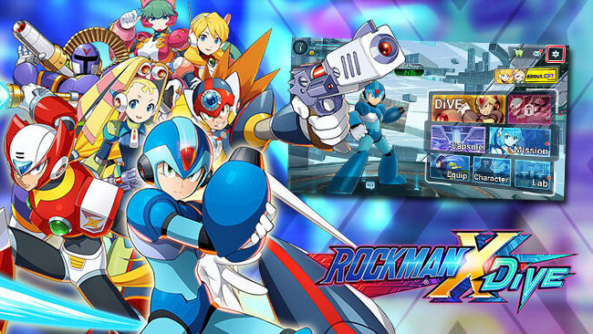 MEGA MAN X DiVE Beta Version is Now Out, Download Now