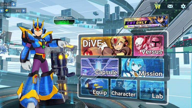 Mega Man X DiVE Game Archives – Mobile Mode Gaming