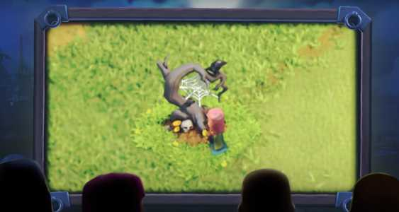 Clash Of Clans Halloween Obstacle And New Troop Get's Leaked