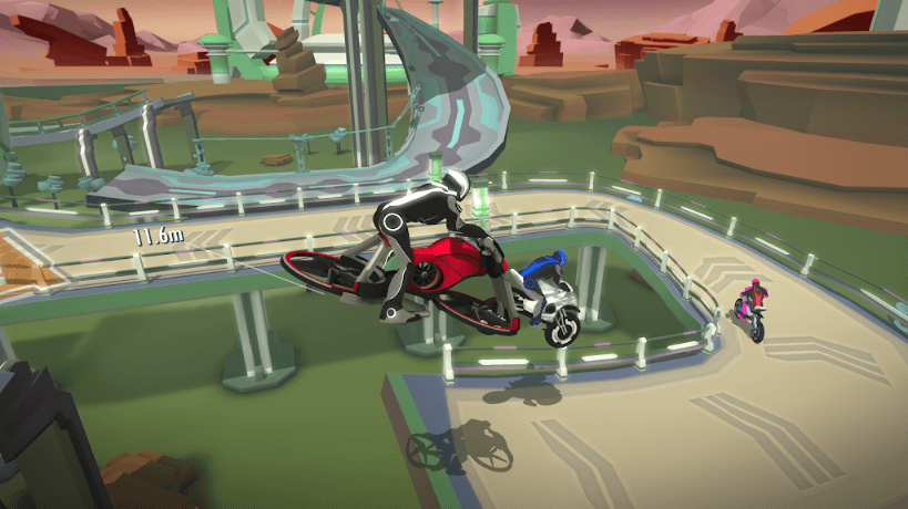 Gravity Rider Zero Game Review: Customize Your Own Race