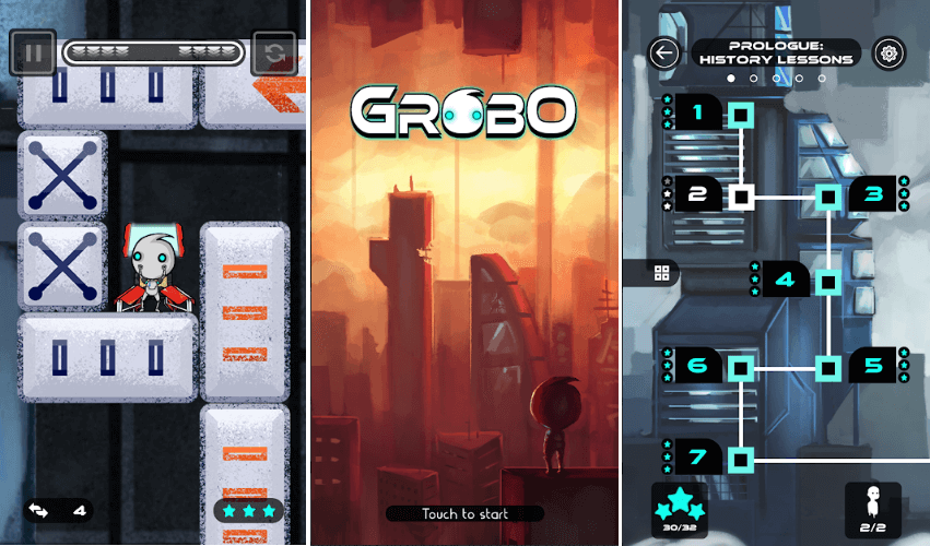 Gravity Manipulated Puzzler 'Grobo' Has Been Released: Download Now
