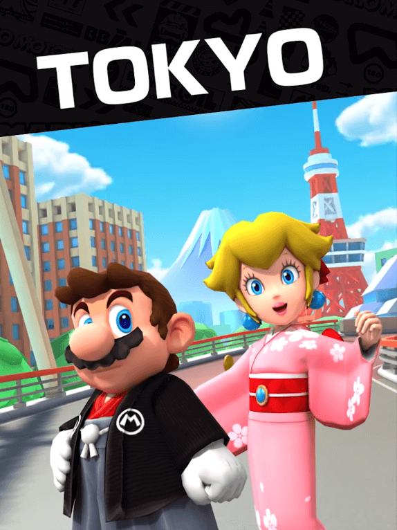 Mario Kart Tour: Tokyo Tour Is Now Live
