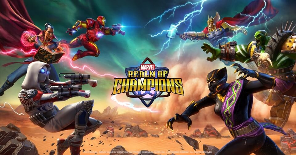 Marvel Realm of Champions HD Wallpapers