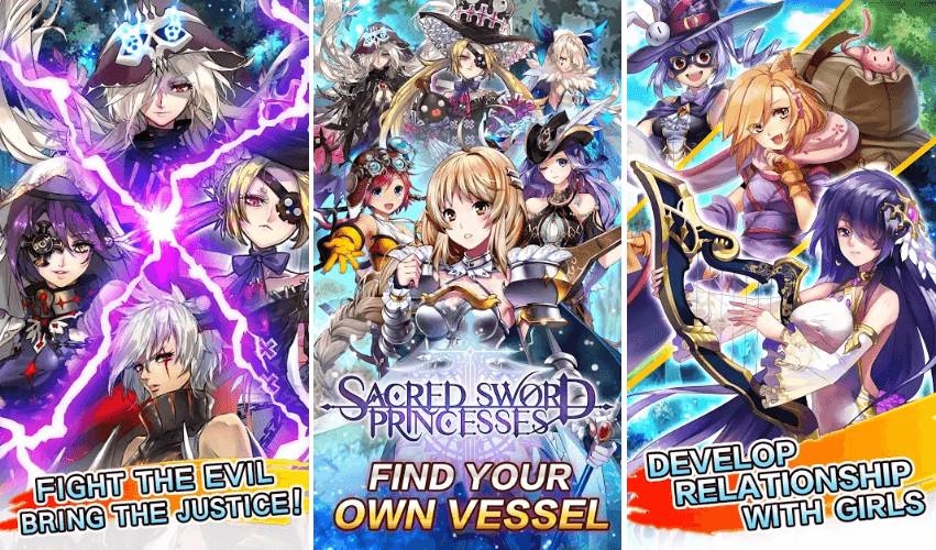 Sacred Sword Princesses Is Up For Pre-Registrations