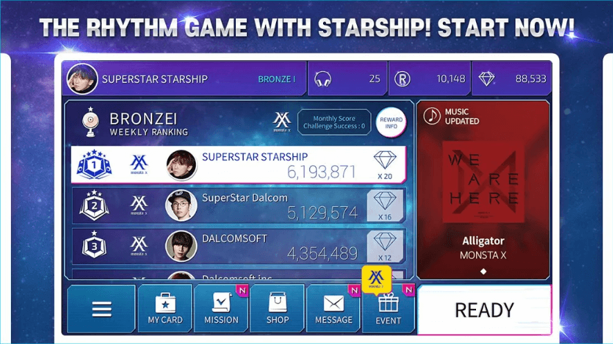 SuperStar STARSHIP is Available for Pre-Registration