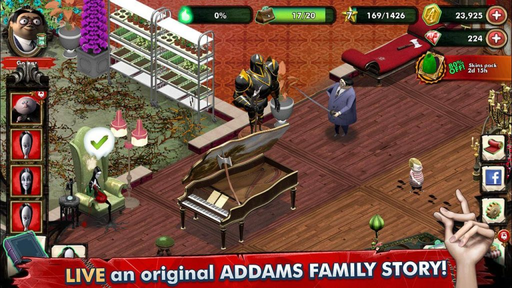 The Addams Family Mystery Mansion Game Review