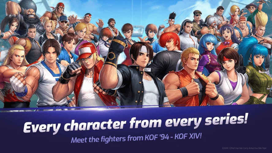 The King Of Fighters ALLSTAR is Available for Pre-Registration