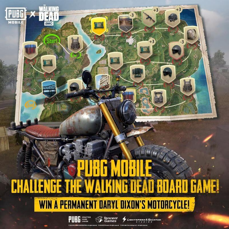 PUBG Mobile The Walking Dead Boardgame: Everything You Need To Know