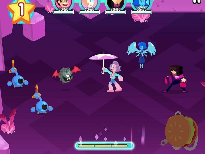 Steven Universe Light RPG 'Attack the Light' Has Been Launched For Apple Devices