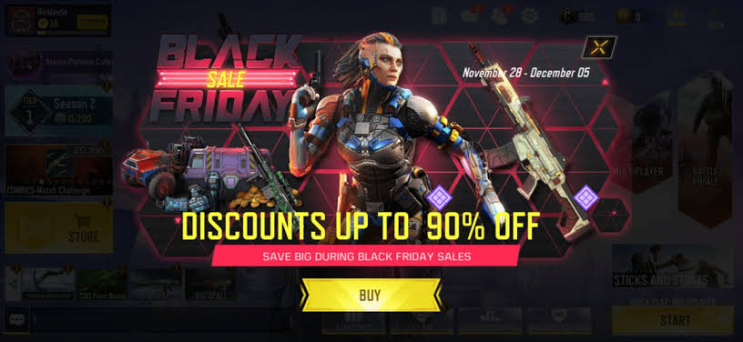 Call of Duty Mobile Black Friday Sale Is Live - Should You Buy Something? –  Mobile Mode Gaming